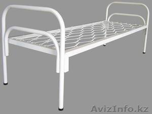 Кровати металлические с ДСП спинками для санаториев, кровати для больниц, дёшево - Изображение #2, Объявление #1415378