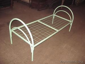 Кровати металлические с ДСП спинками для санаториев, кровати для больниц, дёшево - Изображение #3, Объявление #1415378