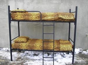 Кровати металлические с ДСП спинками для санаториев, кровати для больниц, дёшево - Изображение #5, Объявление #1415378