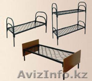 Кровати металлические с ДСП спинками для санаториев, кровати для больниц, дёшево - Изображение #6, Объявление #1415378