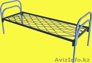 Кровати металлические с ДСП спинками для санаториев, кровати для больниц, дёшево - Изображение #7, Объявление #1415378