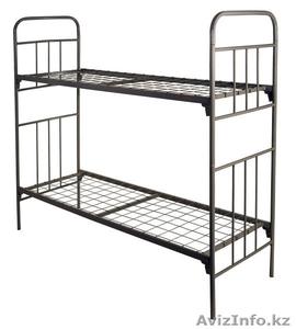 Кровати металлические с ДСП спинками для санаториев, кровати для больниц, дёшево - Изображение #1, Объявление #1415378