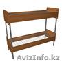 Кровати металлические для бытовок, кровати трёхъярусные для рабочих. оптом - Изображение #2, Объявление #1442453